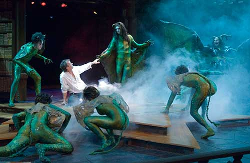 A scene from  Doctor Faustus,  2005.