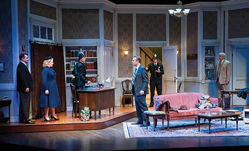 A scene from  Dial M for Murder,  2011.