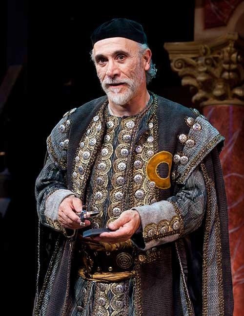 Tony Amendola as Shylock in  The Merchant of Venice,  2010.