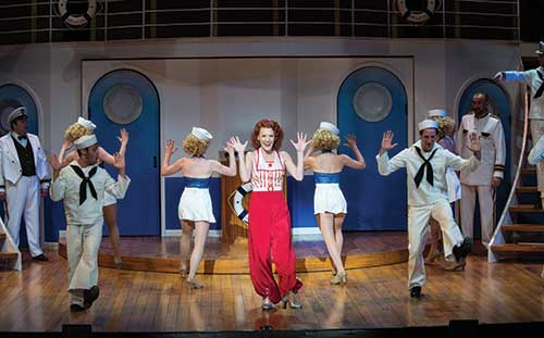 A scene from  Anything Goes,  2013.