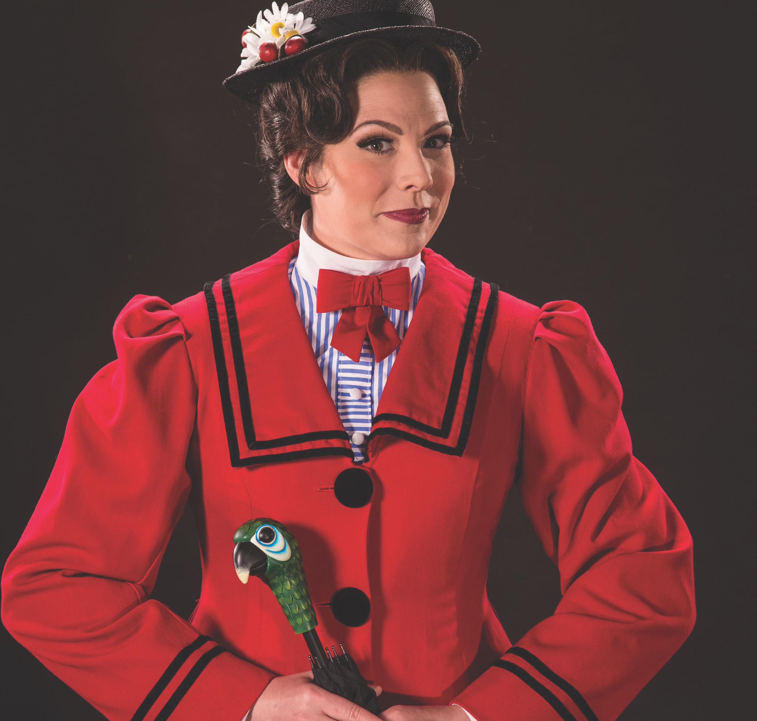 Elizabeth Broadhurst as Mary Poppins