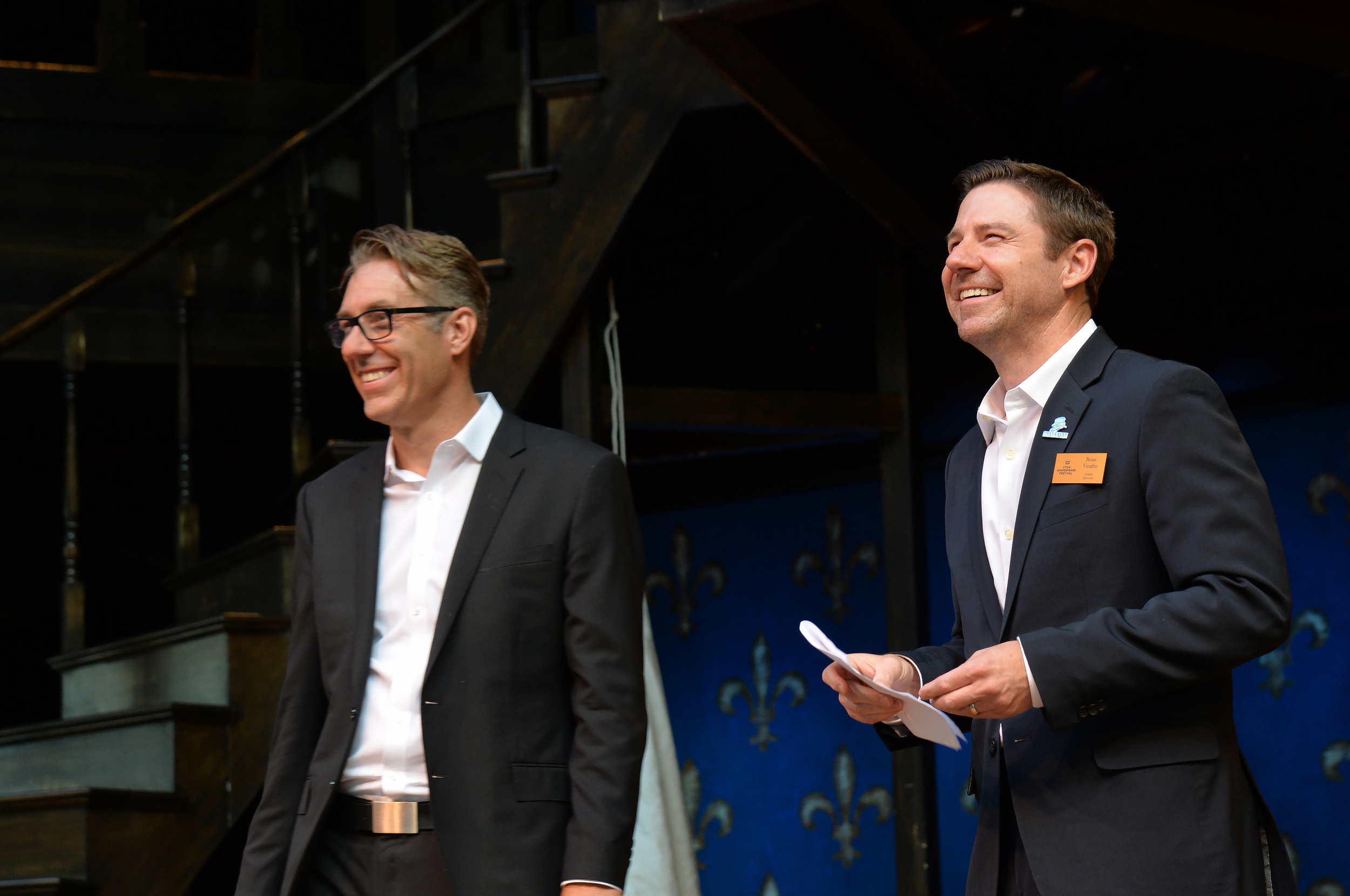 David Ivers (left) and Brian Vaughn, artistic directors