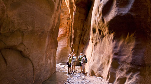 Kanarraville Falls and Slot Canyon