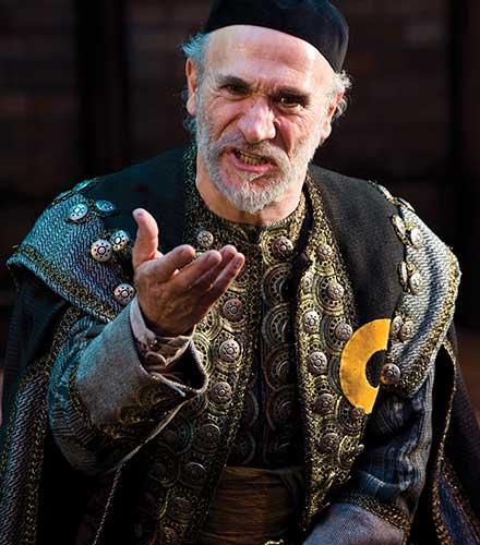 Tony Amendola as Shylock in T he Merchant of Venice,  2010