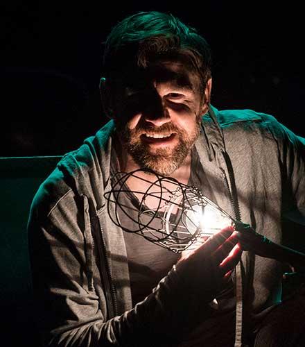 Brian Vaughn as The Poet in  An Iliad