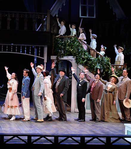 Curtain call of  The Merry Wives of Windsor