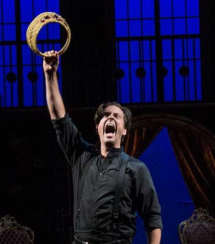 Quinn Mattfeld as Hamlet