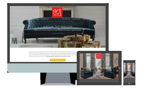 ArtVia Interior Design |  See website >