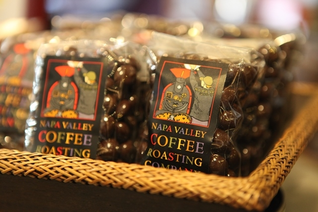 Napa Coffee Roasting Company - roasted, ground and served in front of you.
