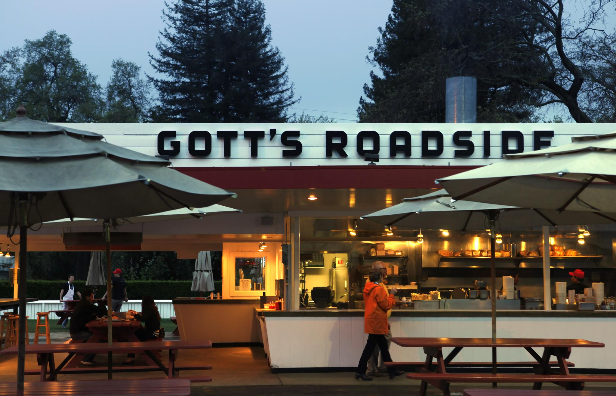 Gott's Roadside - best burgers in the Valley.