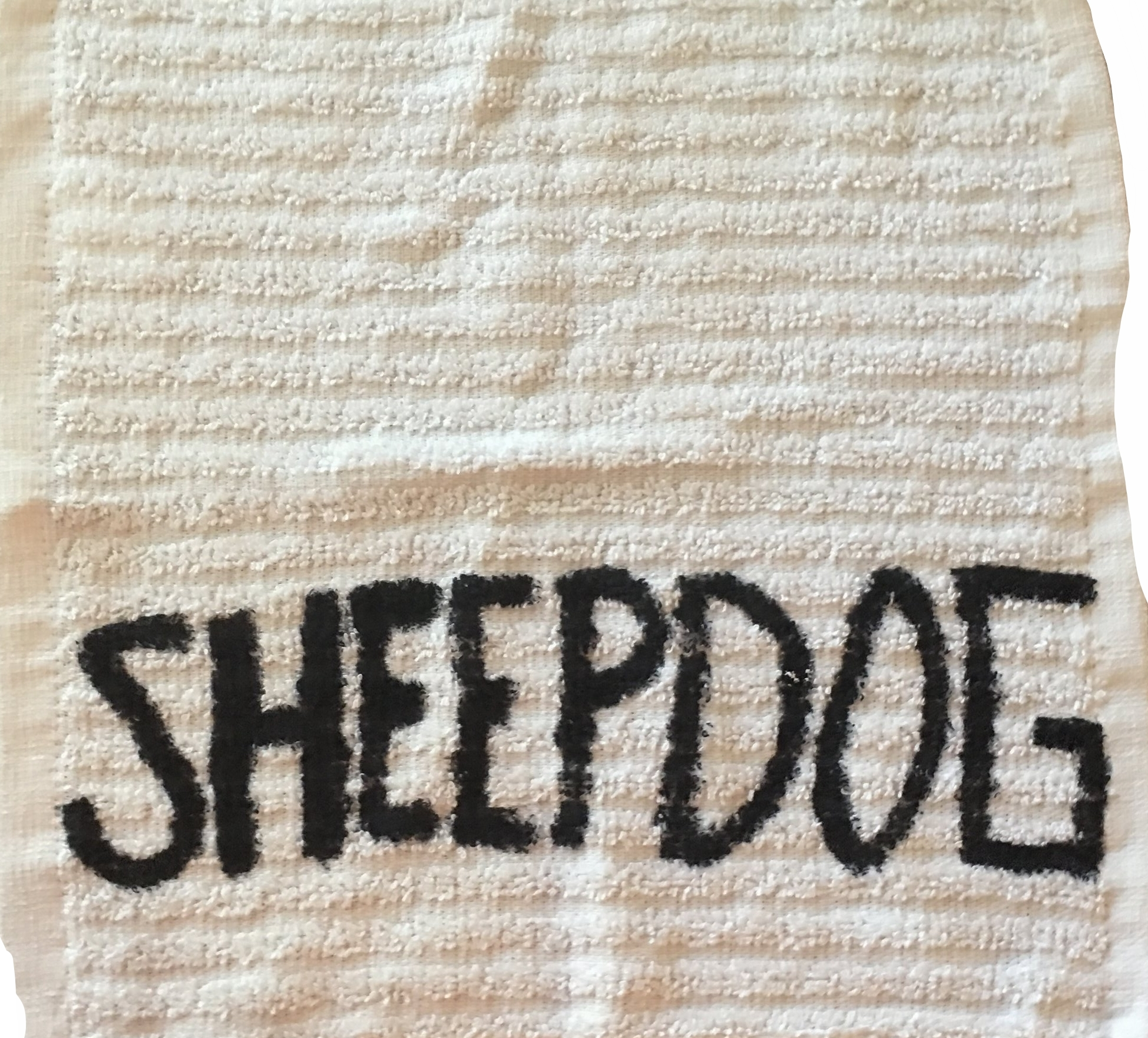 I went an bought me a towel the other day and wrote this on it. I try to wear it at every seminar. This idea of the towel - serving - must take precedence in our lives.