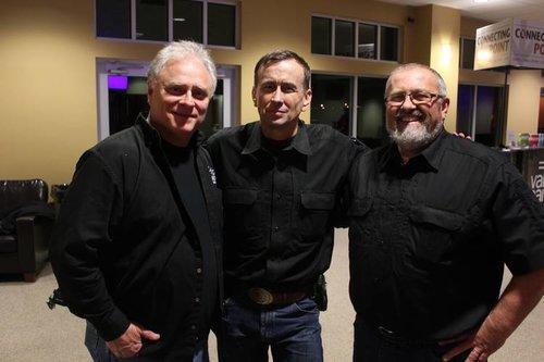 Jimmy Meeks, Colonel Grossman, and Carl Chinn