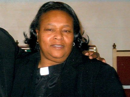 "Rev. Carol Daniels.  A detective who assisted on the case , said: ""In your mind, you think, how could anybody do this to another person much less someone who is down there serving God."" One press report read that according to the autopsy report, Daniels had been stabbed multiple times, her head nearly severed, her hair set on fire. The killers didn't stop there.  Investigators say her body  was also stripped nude, doused with a cleaning solution, and in the opinion of some — posed as if on a crucifix"