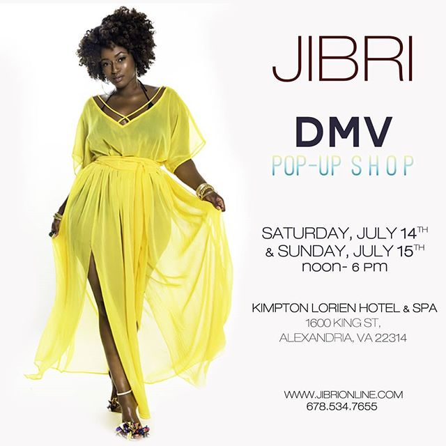 If you will be in or near the DMV area Saturday July 14th or Sunday July 15th, please come out for the JIBRI Pop Up Shop. Never seen pieces, Signature pieces as well as pieces from my last few collections will be available.  What pieces are you looking forward to trying? Hope to see you! :) www.jibrionline.com #plussizefashion #plusfashion #plussizeclothes #plussizedresses #curvygirl #curvywoman #curvystyle #curvyfashion #plussizepopup #dmvpopupshop
