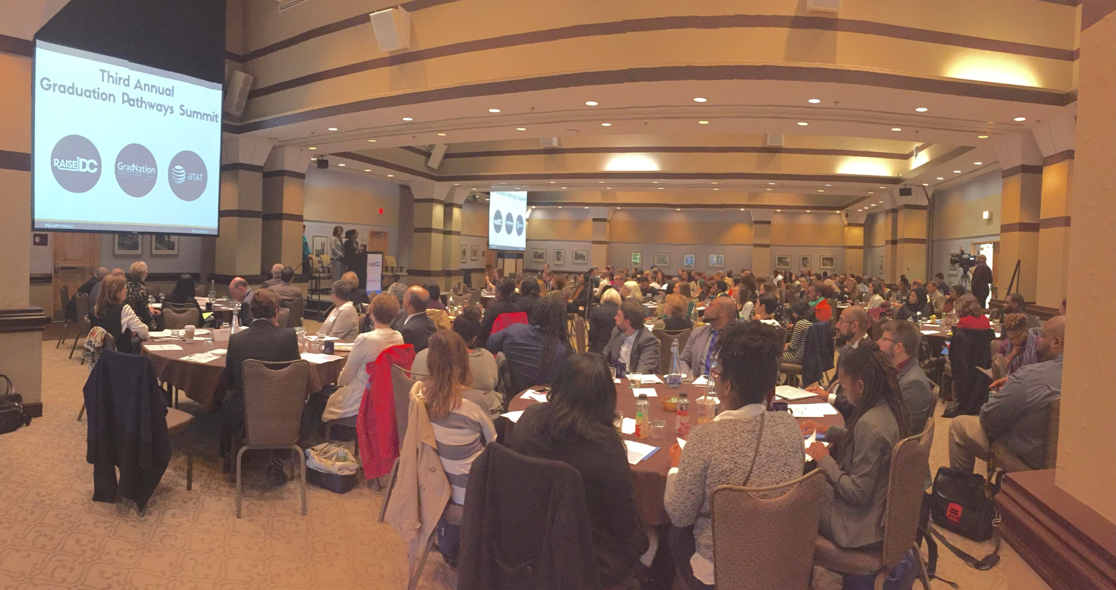 More than 180 participants joined us for the 2016 Graduation Pathways Summit!