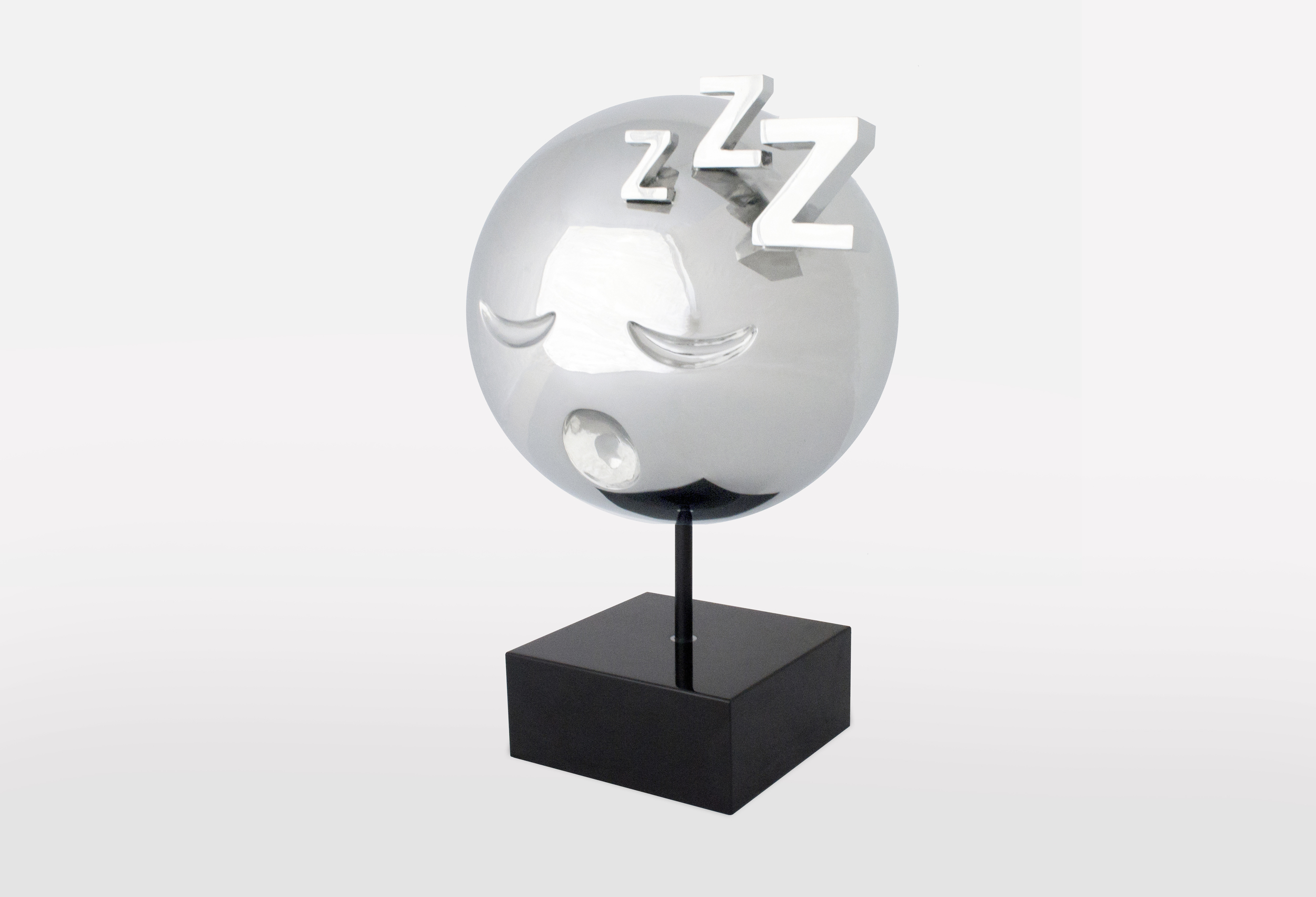 Sleeping Emoji Stainless Steel