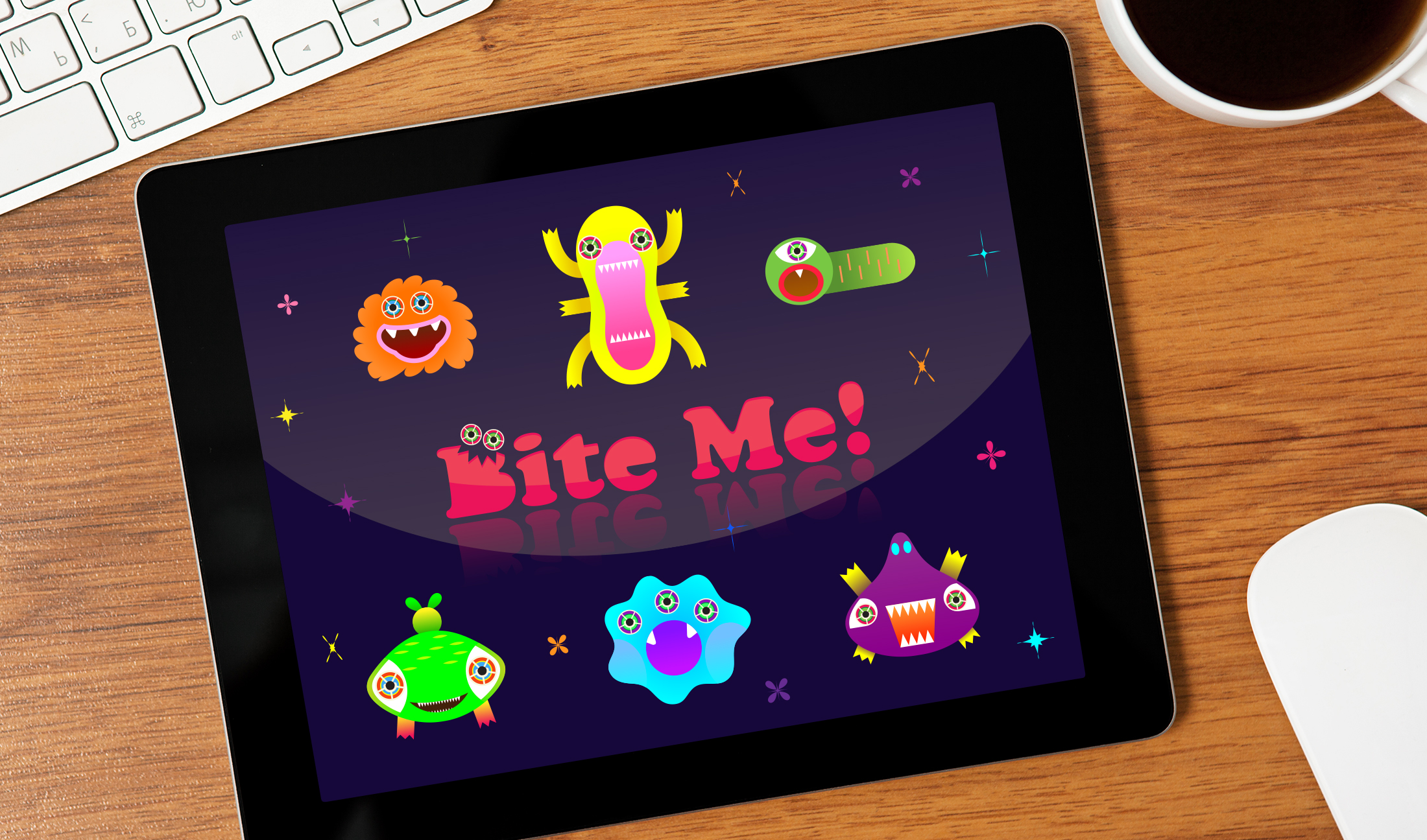 Bite Me!: iPad Game | Illustration