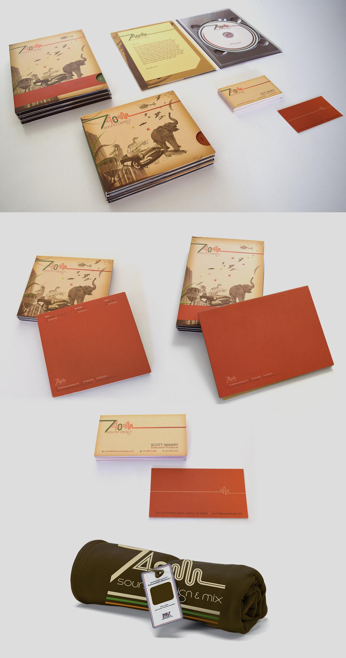 740 Sound Design: Identity | Branding | Packaging | Swag