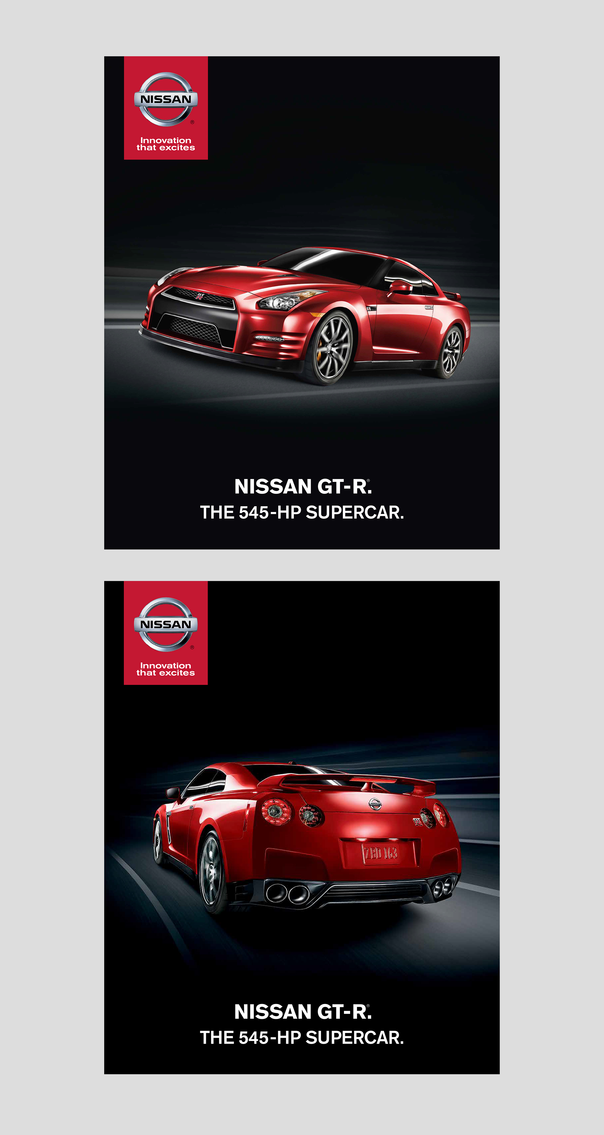 Nissan GT-R Print Ads: Layout | Production