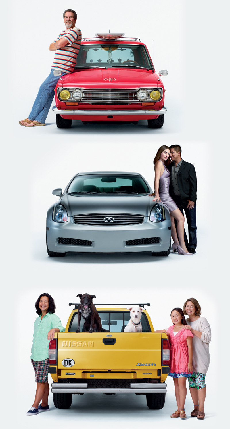 Nissan Outdoor Banner: Layout | Production