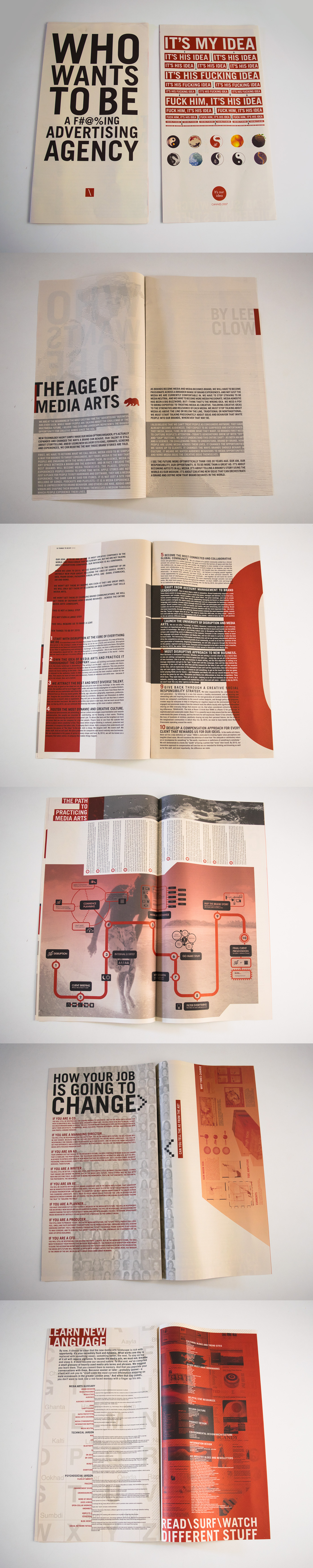 TBWA Network: Media Arts Newspaper for Cannes