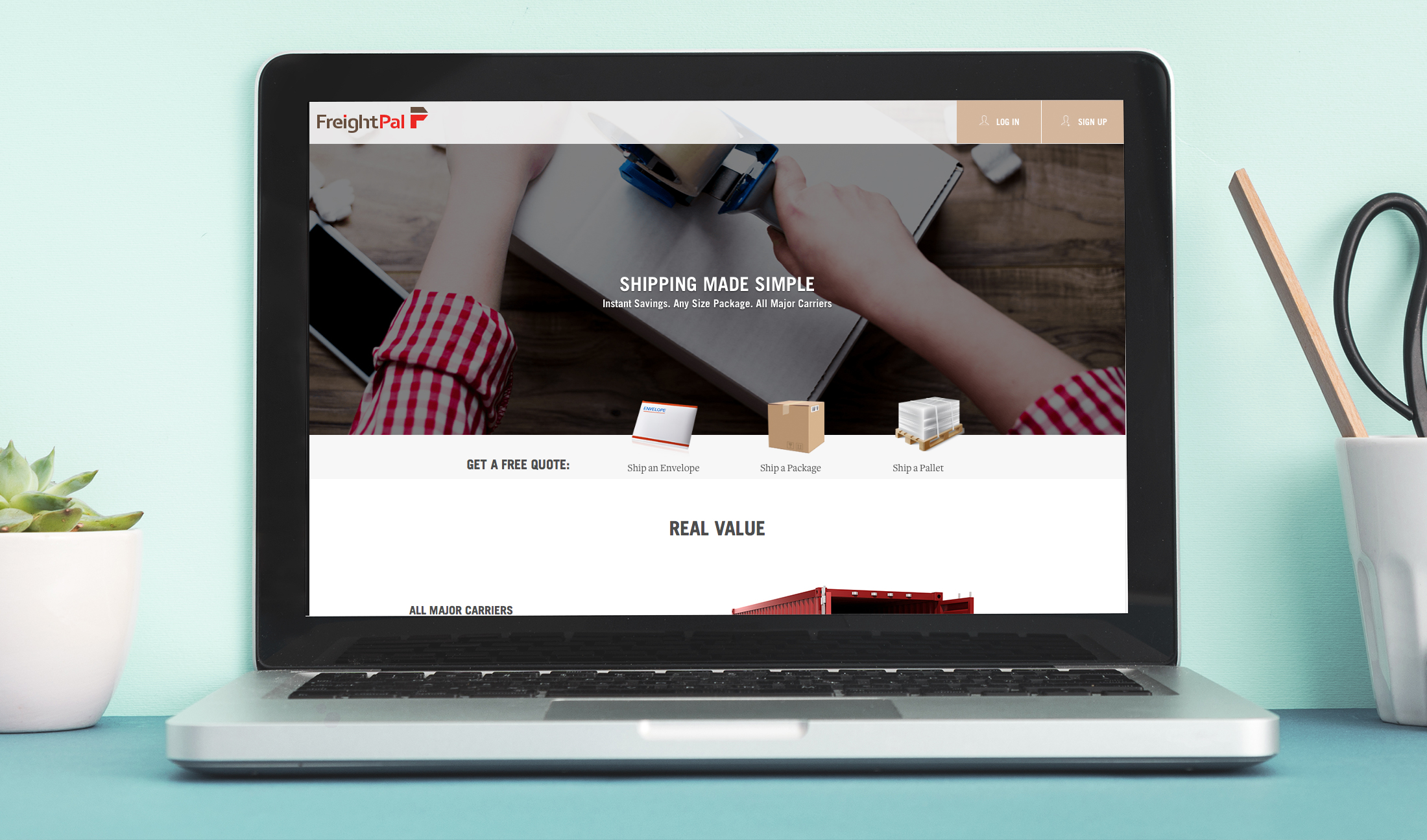 FreightPal: Website