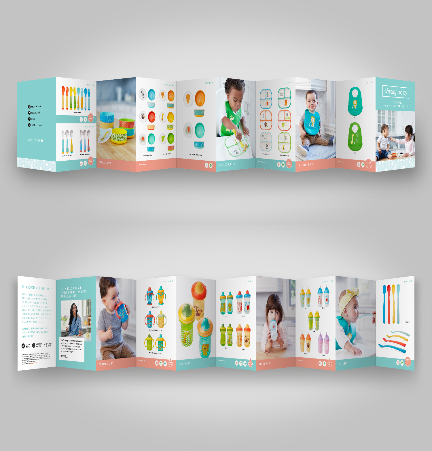 Cheeky Baby Seeding Booklet: Design | Production