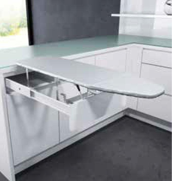 External cabinet width - 400-500mm  Minimum internal cabinet depth - 510mm  Minimum internal cabinet height - 120mm  Board size - 950mm x 300mm  Code EH1468040