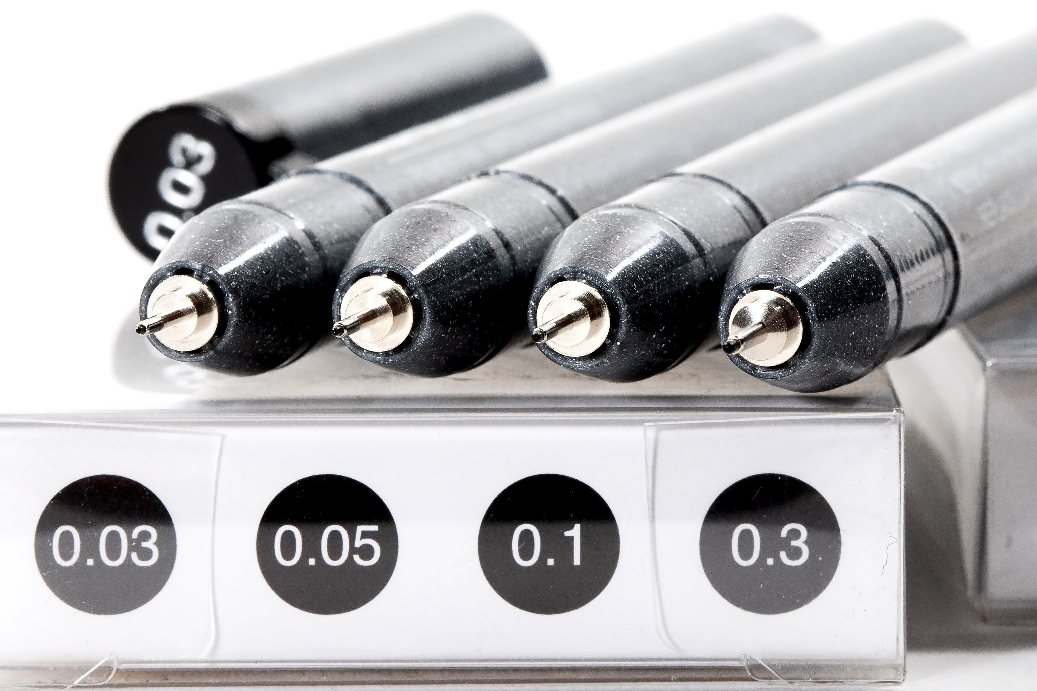 Set A - Fine Nib Inking Pens