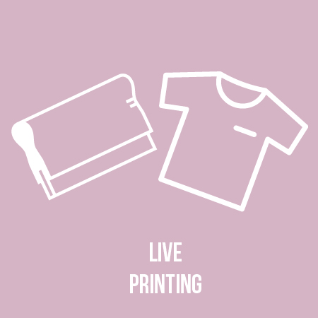 Join Rezonance Printing for a live silk screen demo and your own Grickle printed t-shirt. -