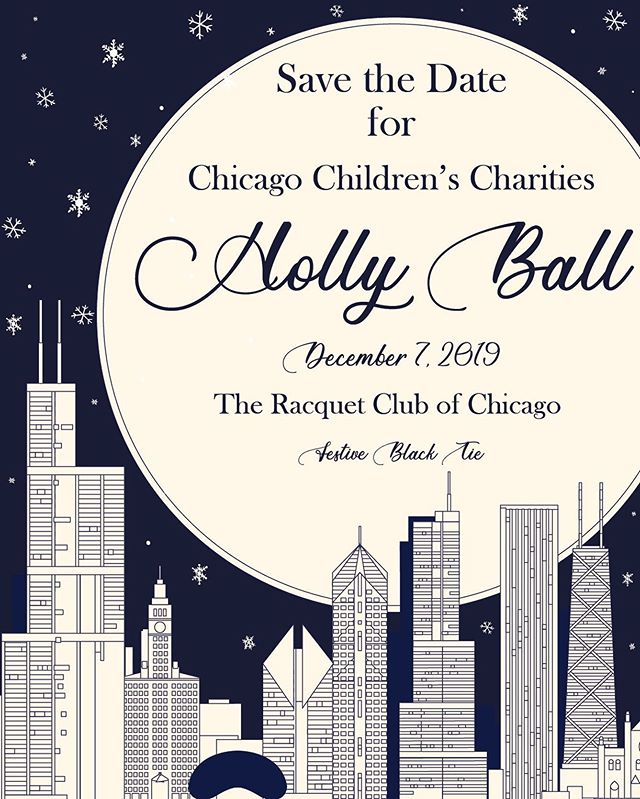 Save the date for our annual Holly Ball! We'll have live music, signature cocktails, plenty of food and luxury auction items. The best part— all proceeds are donated to our beneficiaries! Visit the link in our bio to purchase your early bird ticket. 🥂🍾