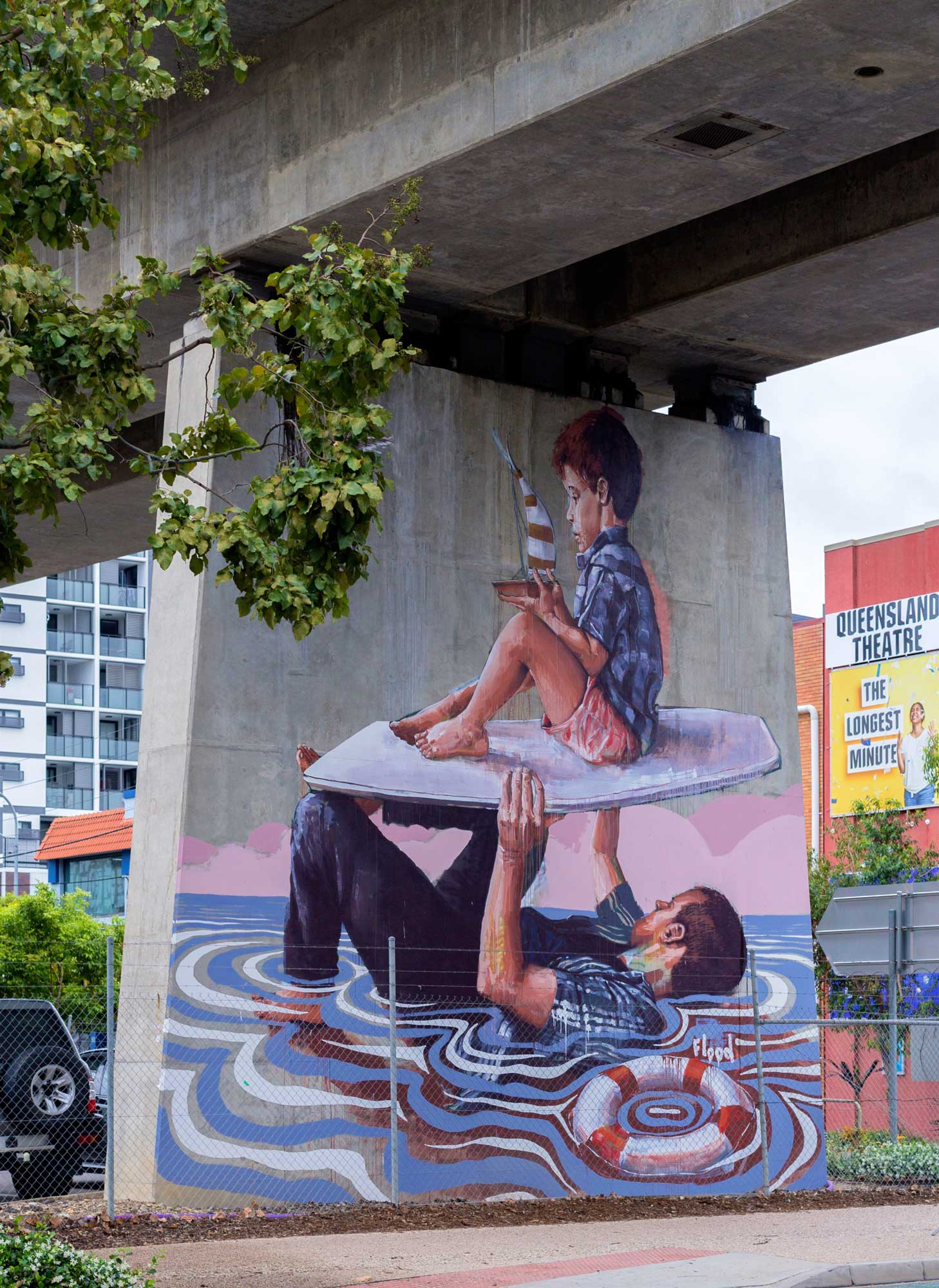 "FINTAN MAGEE - Entitled ""Flood"", Fintan draws on personal experience with the 2011 Brisbane floods and explores greater issues of climate change and the environment.See more →"