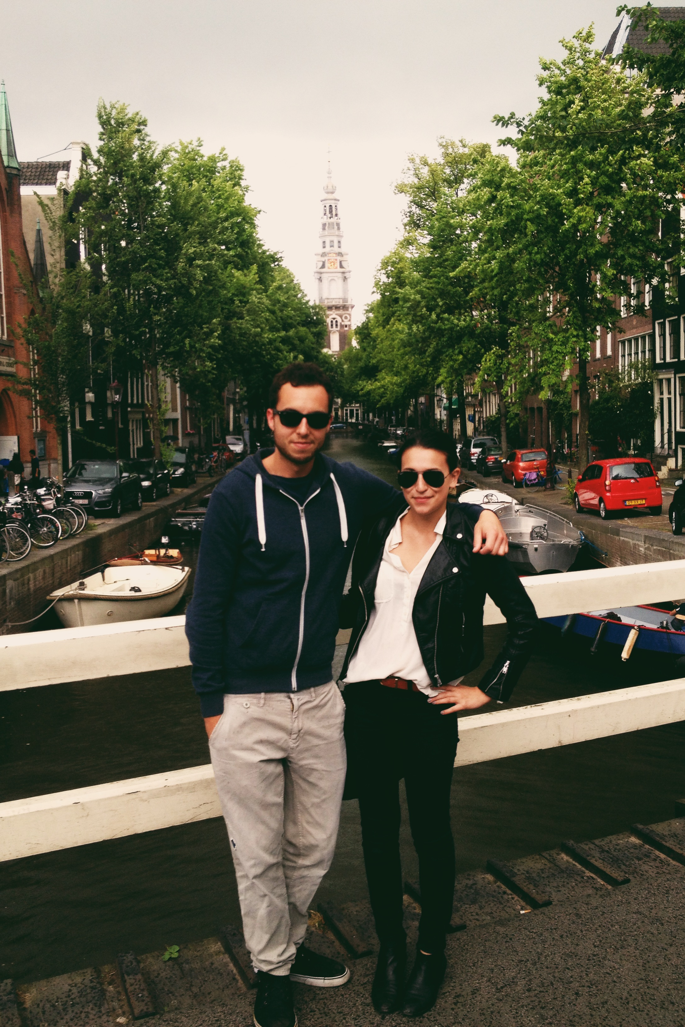 Amsterdam with the impossibly amazing Lars. Y'all should read his art blog, Untitled Publications.