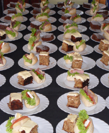 Rows and Rows of Afternoon Teas