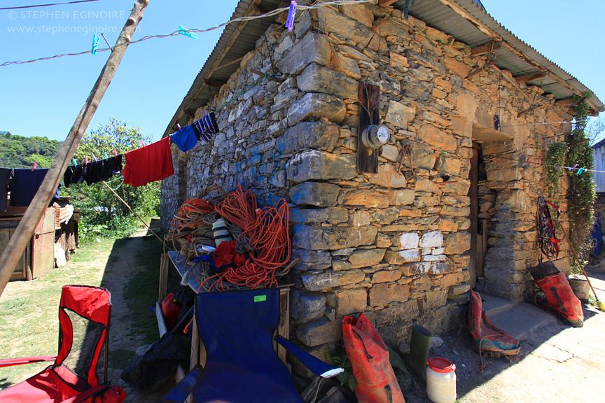 Casa de los Gringos, AKA basecamp.