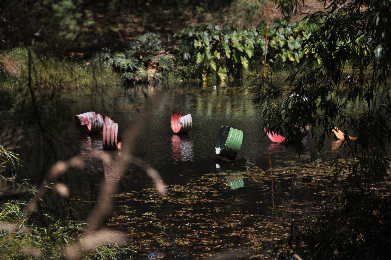 Brick Bay Sculpture Park - image 2010 (Jeff Thomson work is sold). Check Brick Bay Sculpture Park link for current artists