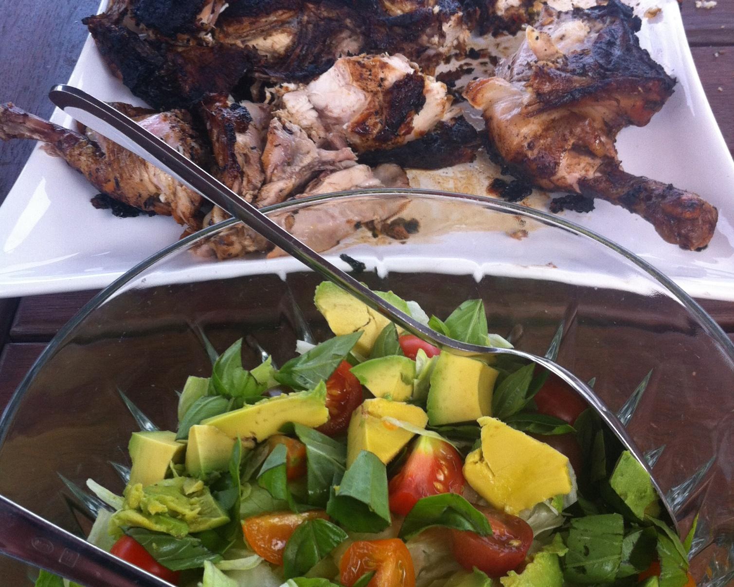 Butterflied BBQ Chicken