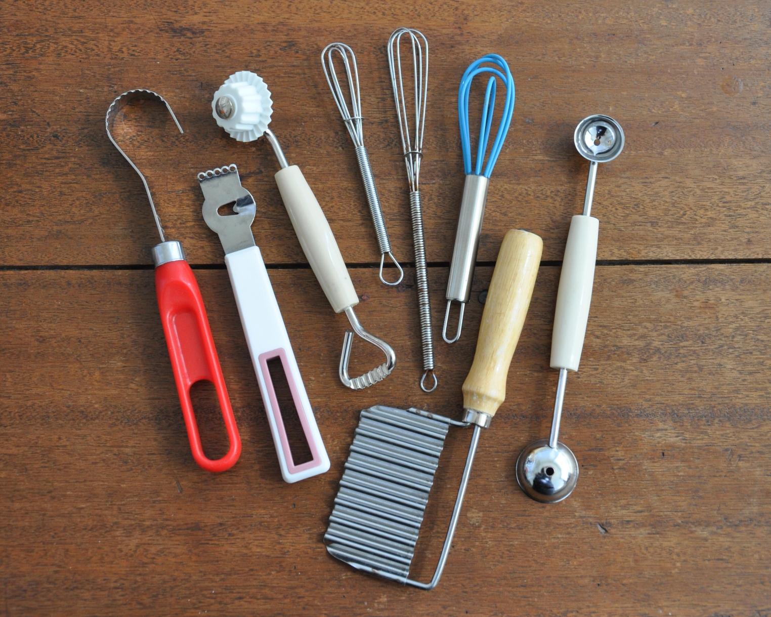 The Foodie Inc kitchen utensils