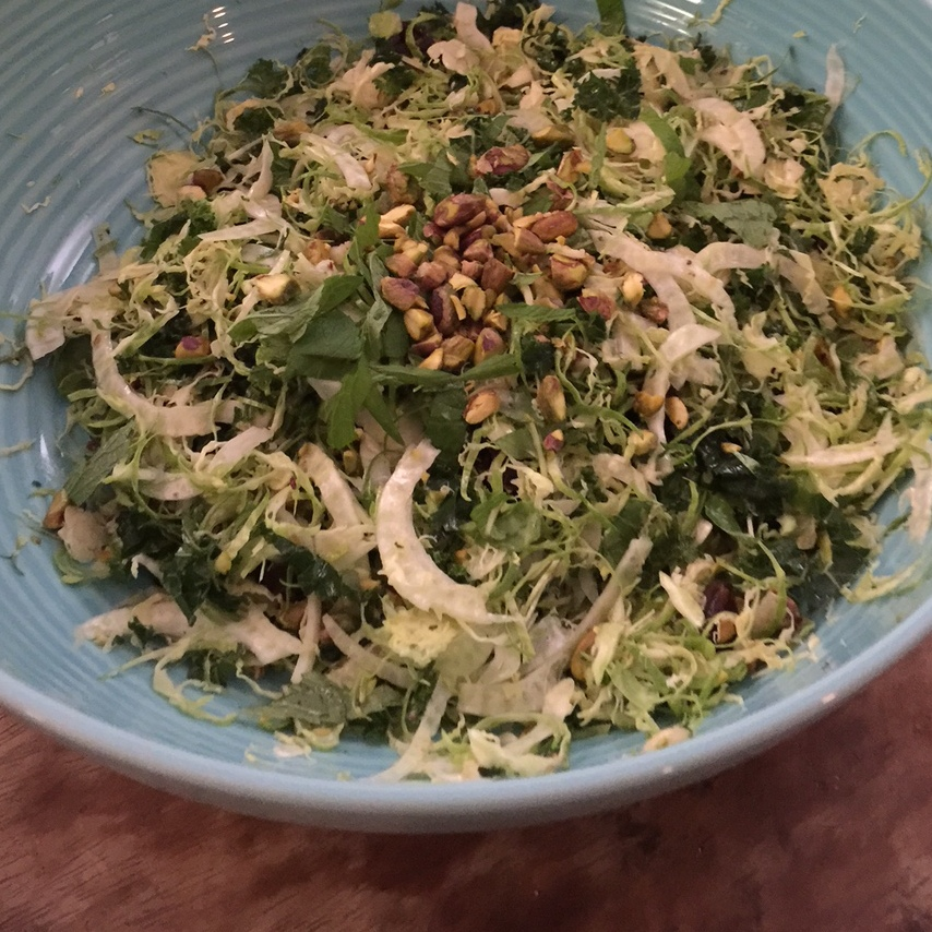 superfood slaw with lemony mustard dressing