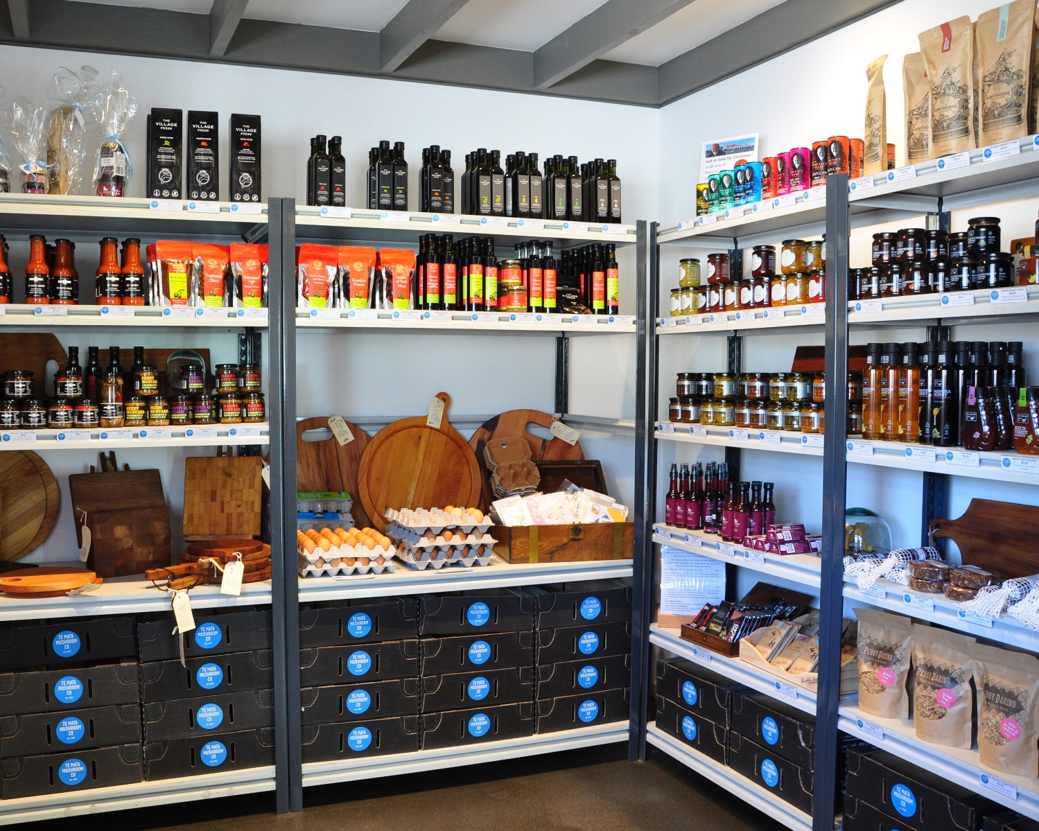 Te Mata Mushrooms Shop
