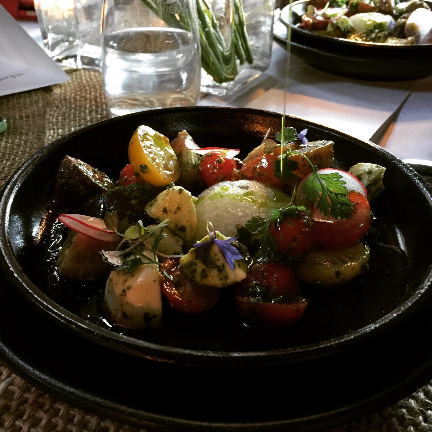 La Bonne Table tomato consumme
