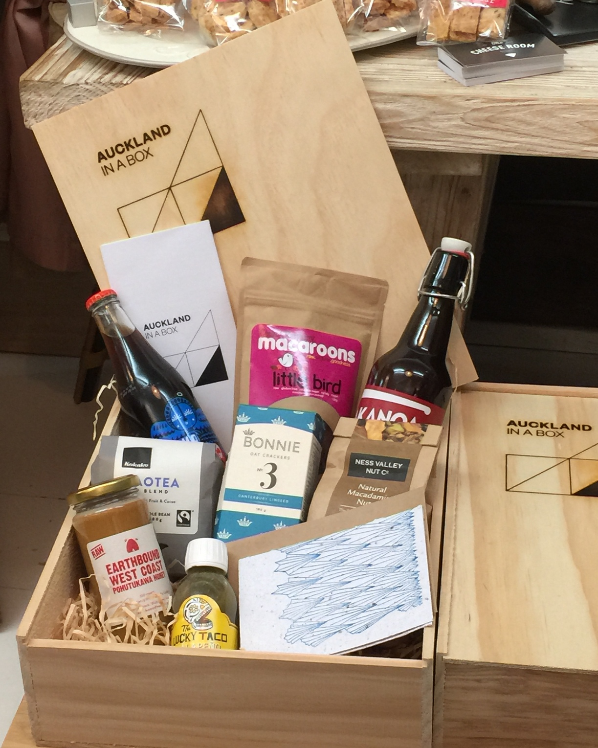 Auckland in a Box - artisan food and beverages