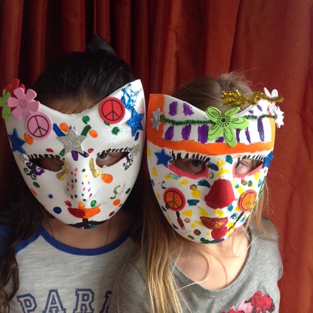 Fabulous painted masks