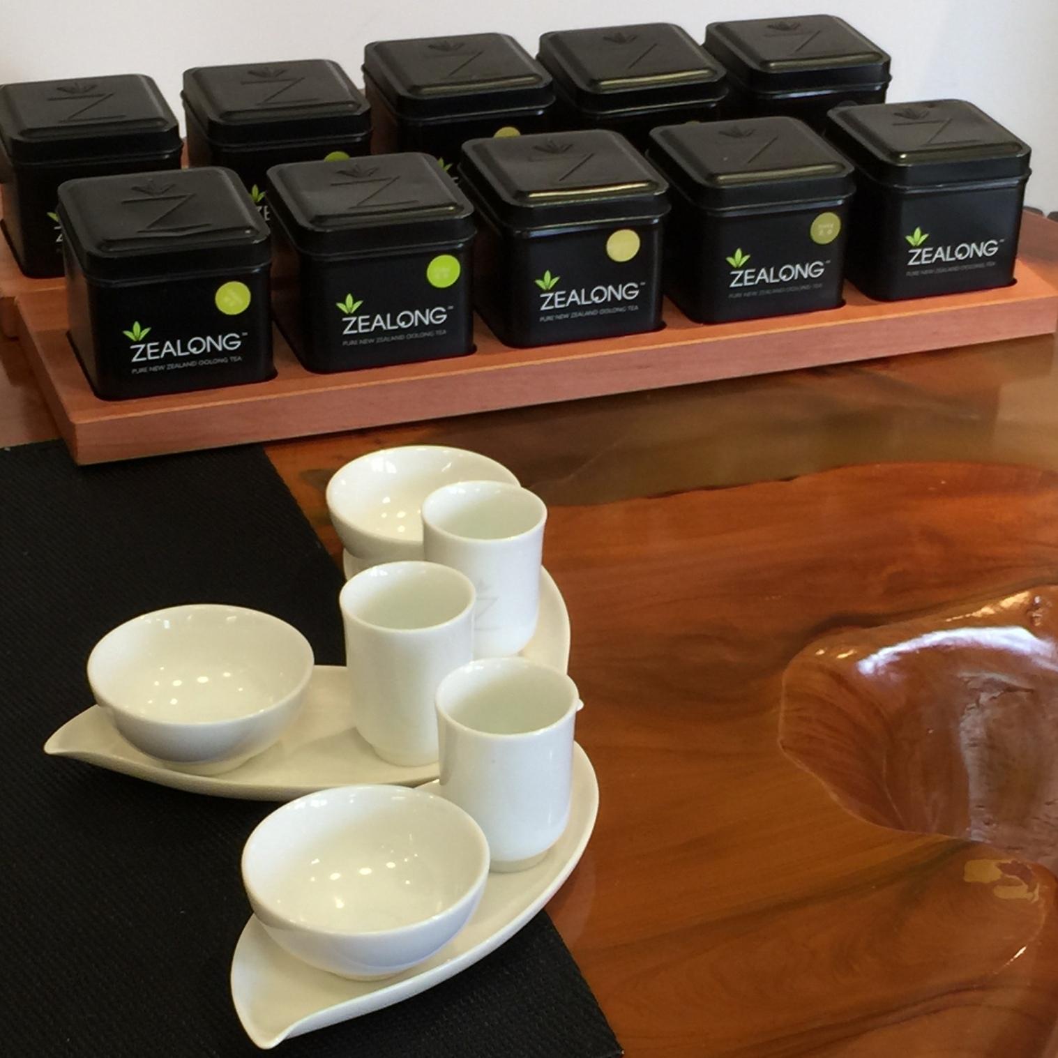 Zealong tea tasting