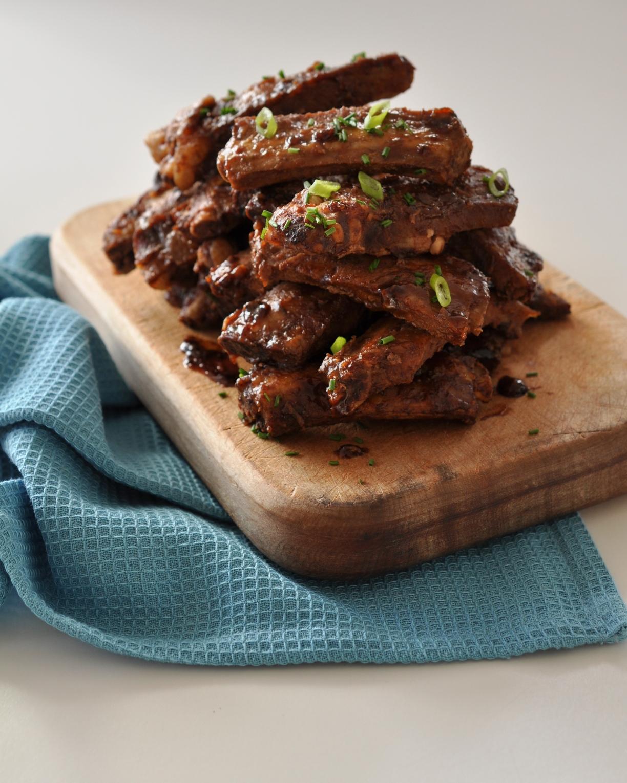 Five spice sticky ribs