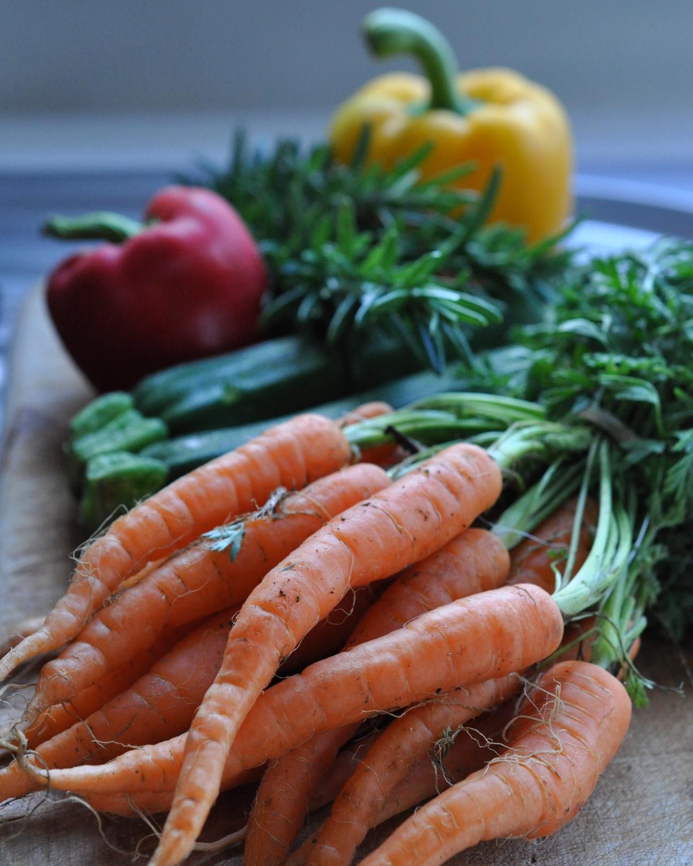 Fresh farmers' market produce