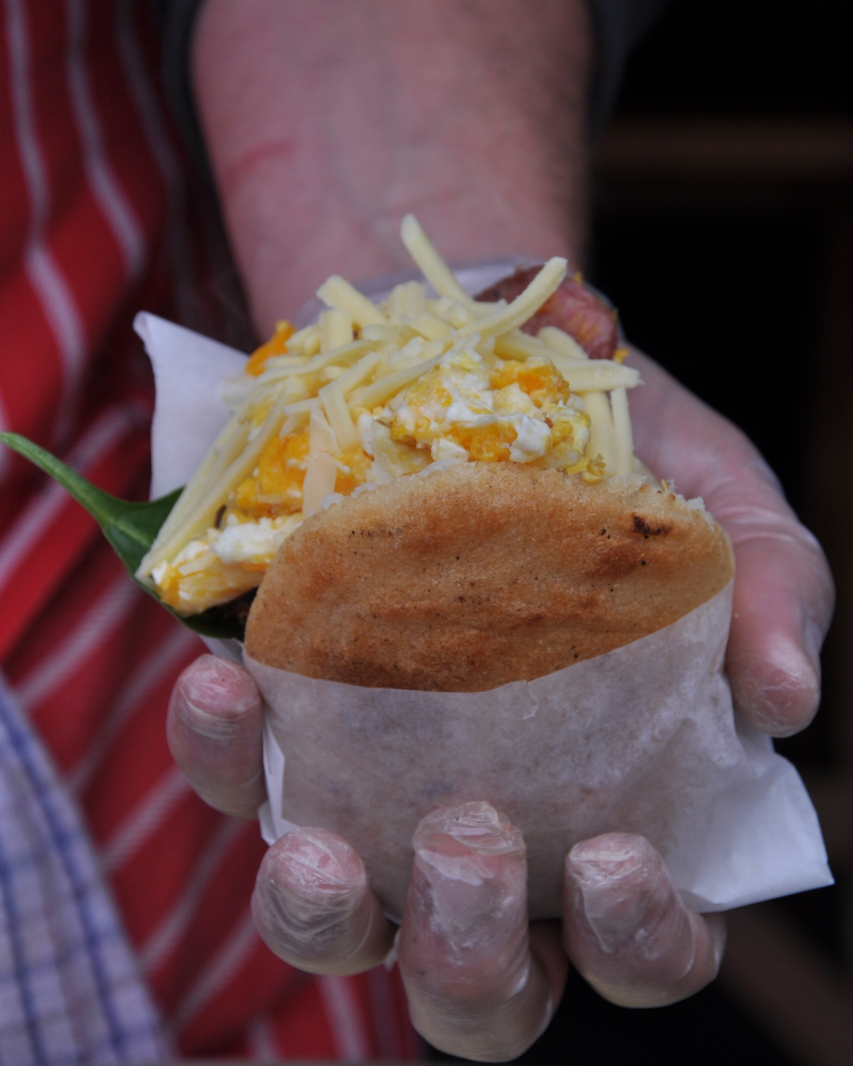 Arepas from Latin American