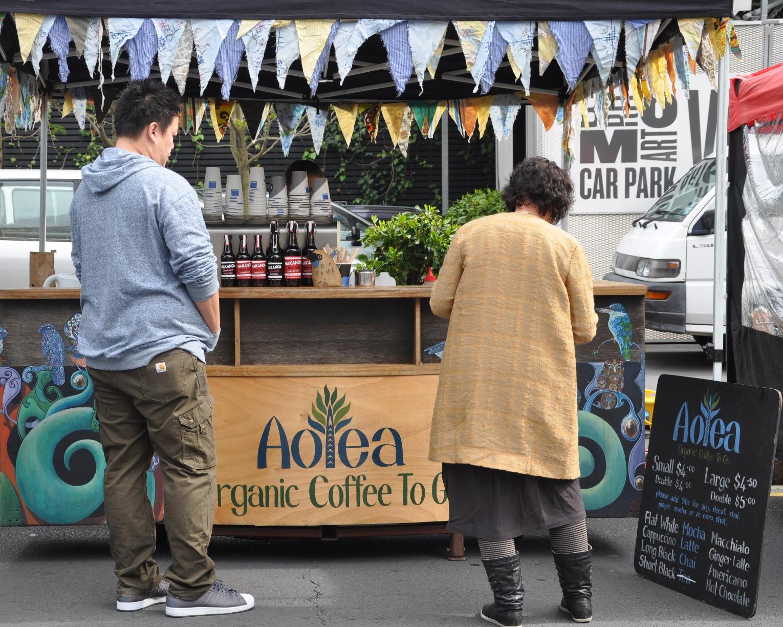 Aotea organic coffee