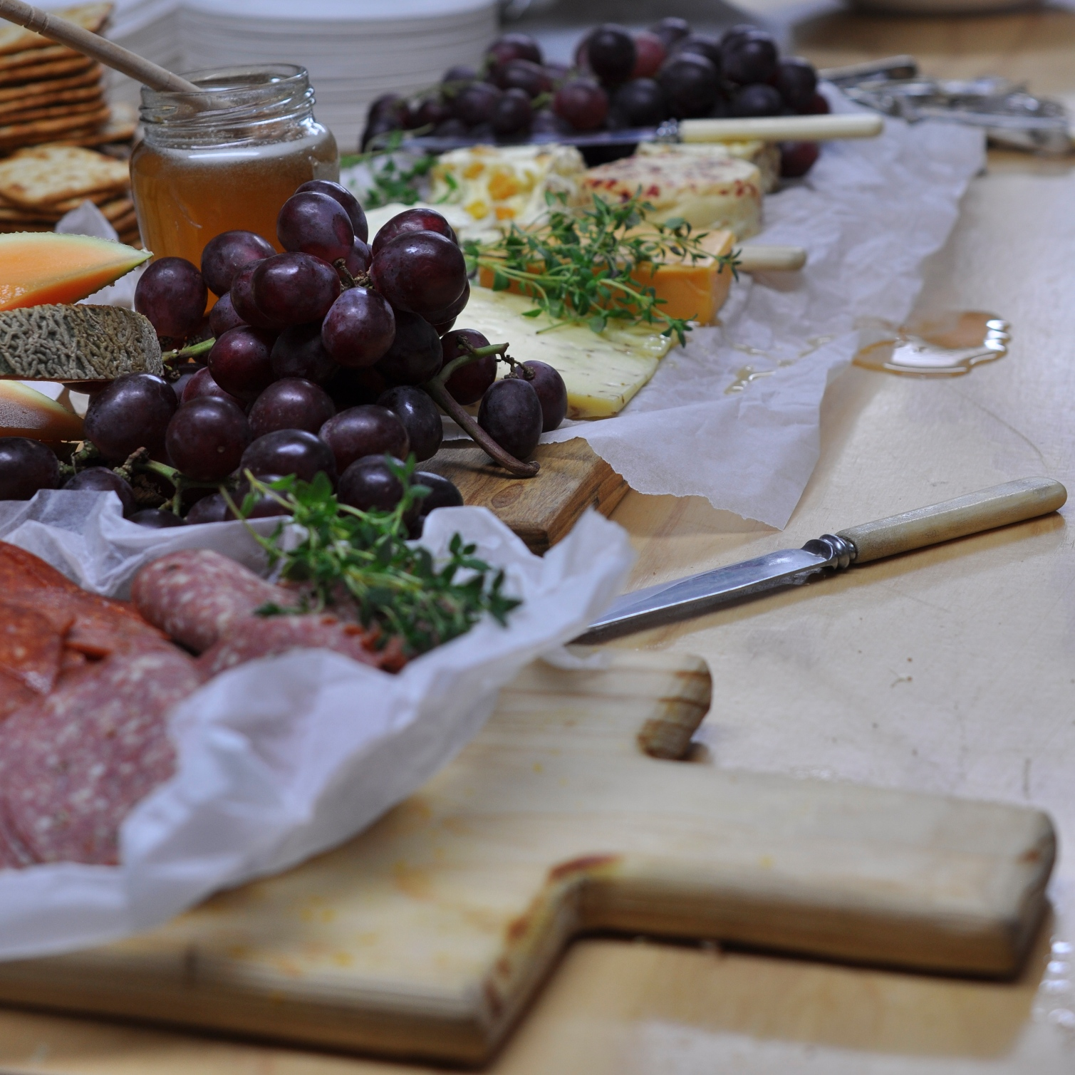 Who can resist this cheeseboard?