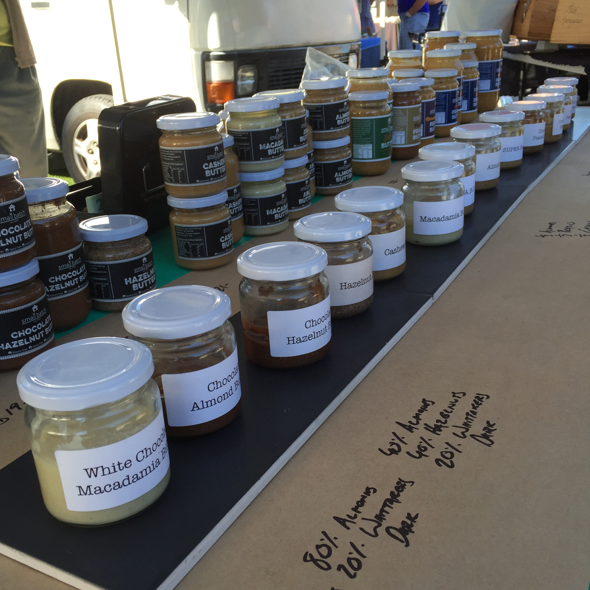 Small Batch Nut Butters
